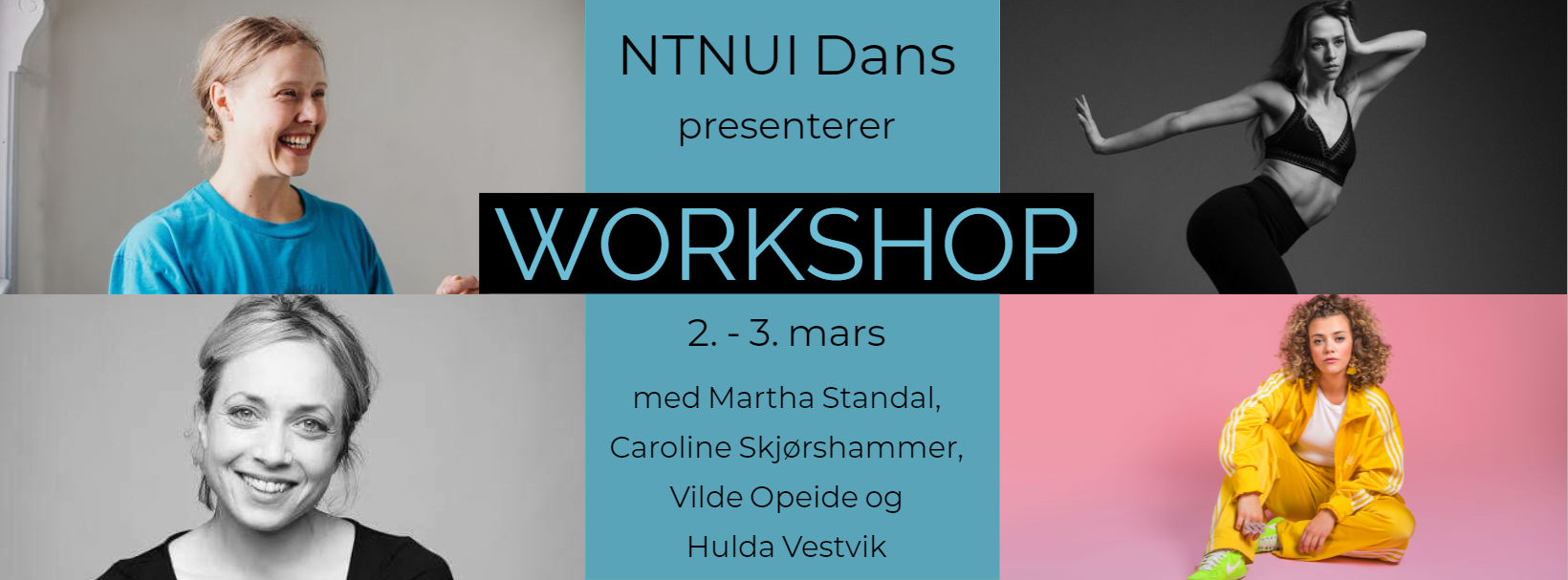 NTNUI Dans presenterer: Workshop våren 2019